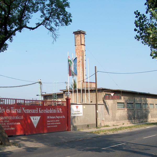 2005 - Rév és Társai Nemesacél Kereskedelmi Kft