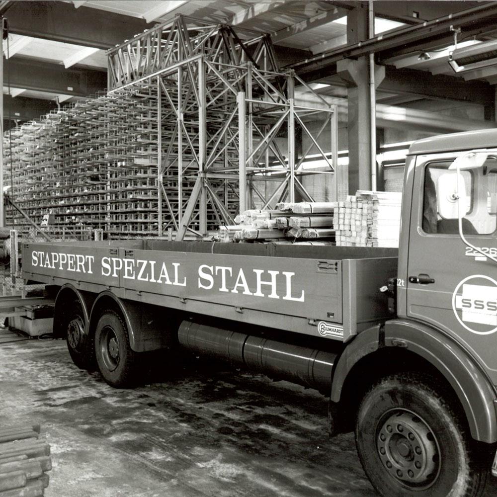 1977 - Stappert Spezial-Stahl Handel GmbH